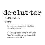 Do a Mind Declutter