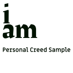 How to Create Your Personal Creed